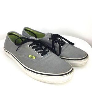 Vans Authentic classic shoes Wild Dove/Lime Punch